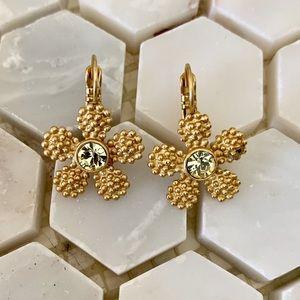 kate spade Gold Marguerite Flower Earrings